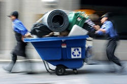 South Kensington Rubbish Collection Service in SW7
